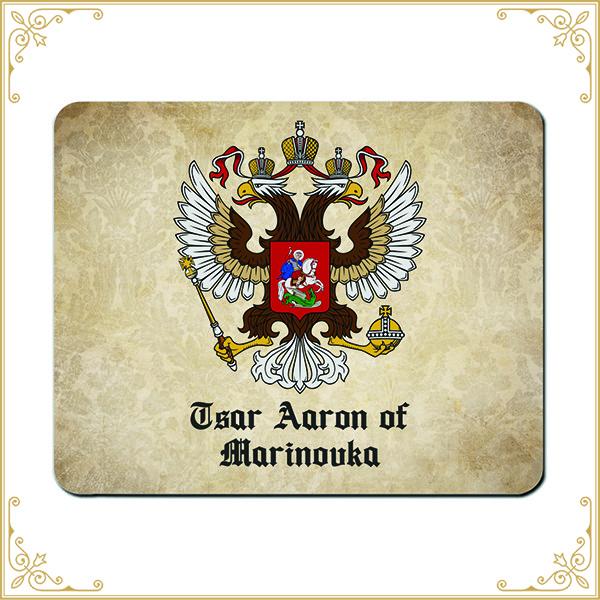 Mauspad mit Adelstitel Wappen