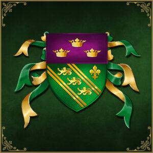 Lord of Kerry Wappen